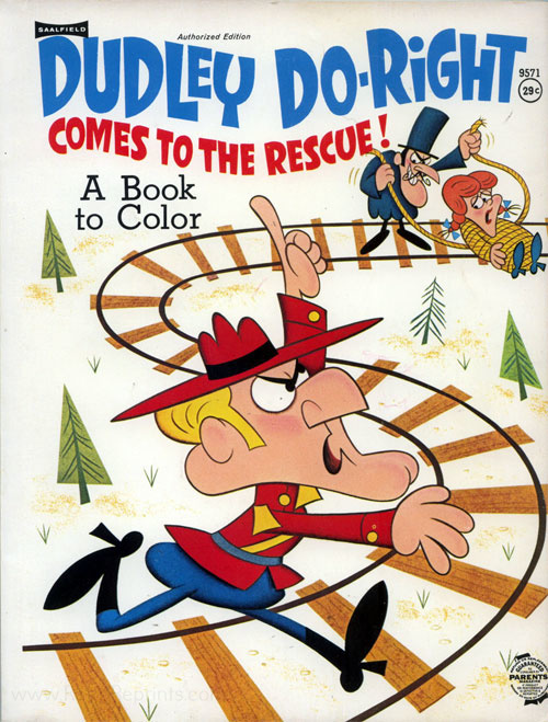 Dudley Do-right Comes to the Rescue