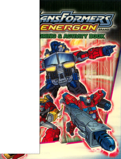 Transformers Energon Coloring and Activity Book