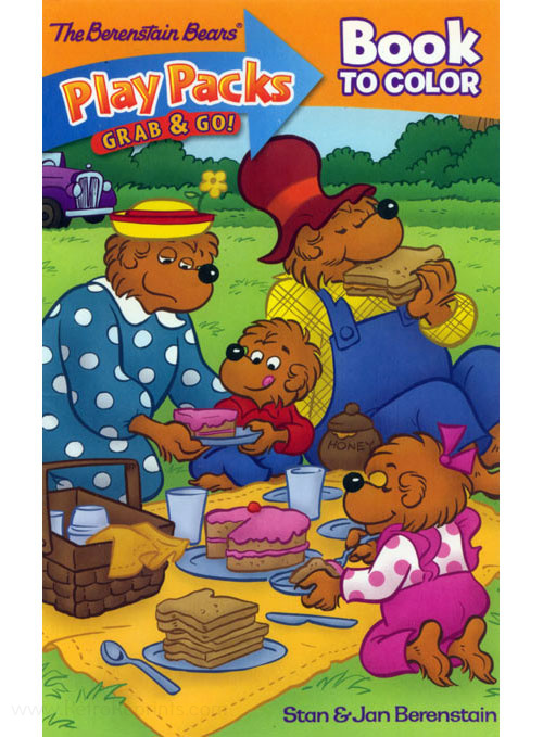Berenstain Bears, The Play Pack Coloring Book