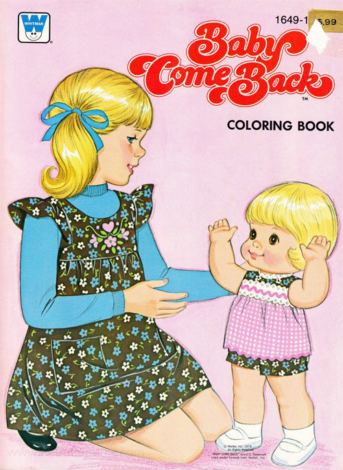 Baby Come Back Coloring Book