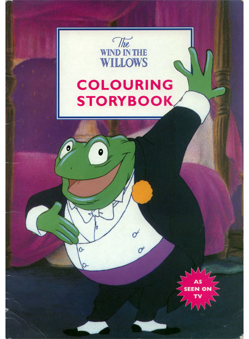 Wind in the Willows, The Coloring Storybook