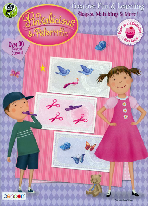 Pinkalicious & Peterrific Shapes, Matching, and More!