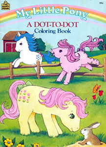 My Little Pony A Dot-to-Dot Book