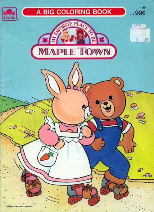 Maple Town Coloring Book