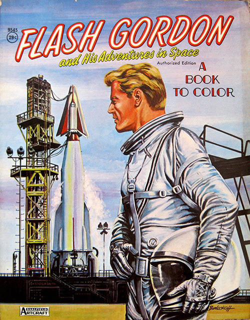 Flash Gordon A Book to Color
