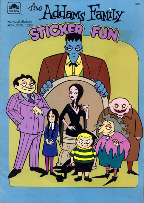 Addams Family, The (1992) Sticker Fun