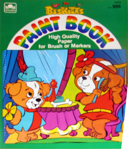 Biskitts (Paint; 1984) Golden Books