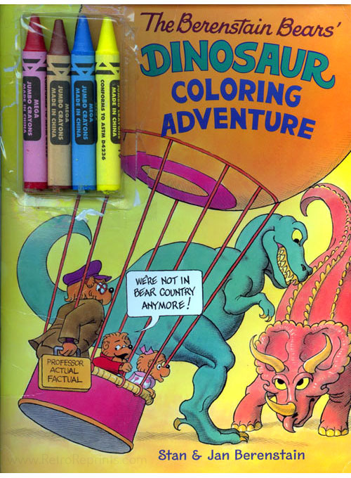 Berenstain Bears, The Dinosaur Coloring Adventure
