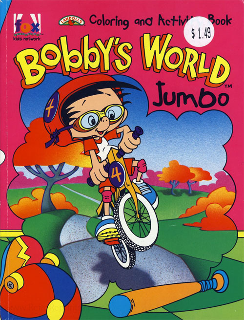Bobby's World Coloring and Activity Book