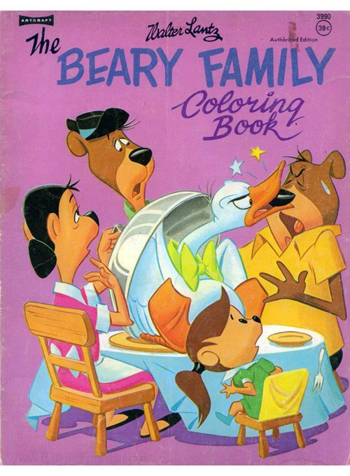 Beary Family, The Coloring Book