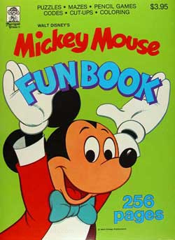 Mickey Mouse and Friends Fun Book