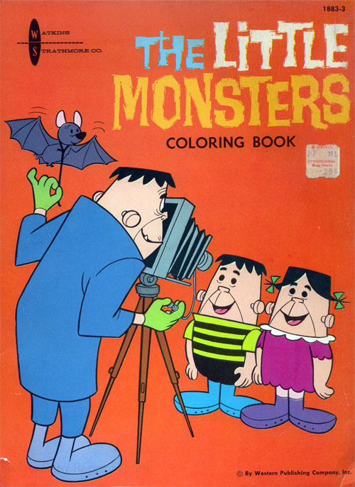 Little Monsters, The Coloring Book