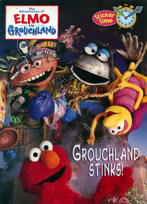 Adventures of Elmo in Grouchland, The Grouchland Stnks!