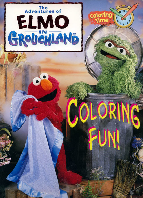 Adventures of Elmo in Grouchland, The Coloring Fun!
