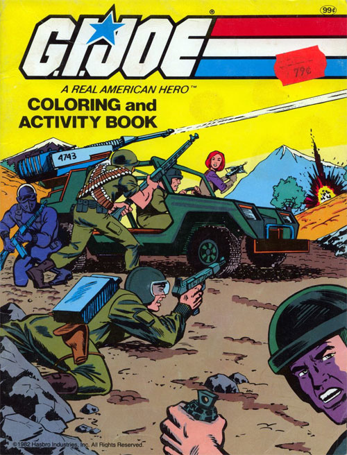 GI Joe Coloring and Activity Book