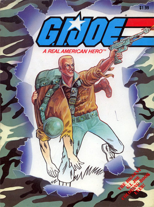 GI Joe Coloring Book