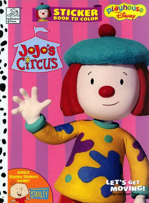Jojo 39 s Circus Coloring Books RetroReprints