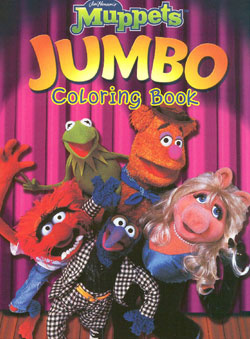 Muppets Jim Henson S Coloring Books Coloring Books At Retro Reprints The World S Largest Coloring Book Archive