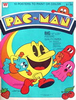 Pac-Man Posters to Color