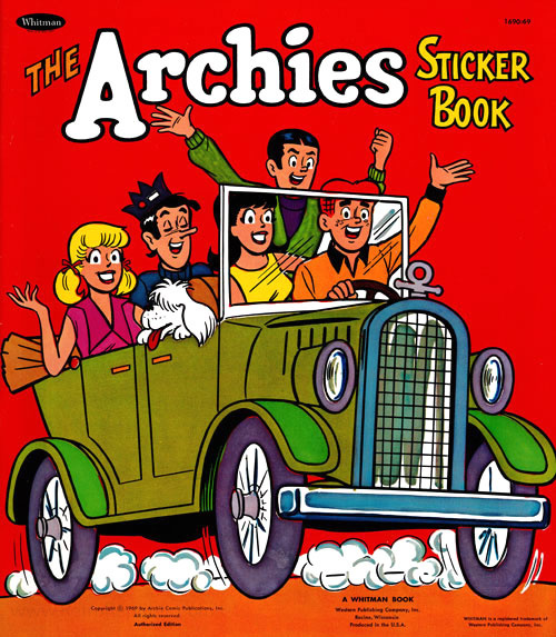 Archies, The Sticker Book