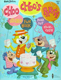 Choo Coloring Book Choos Party