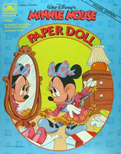 Minnie Mouse Paper Doll