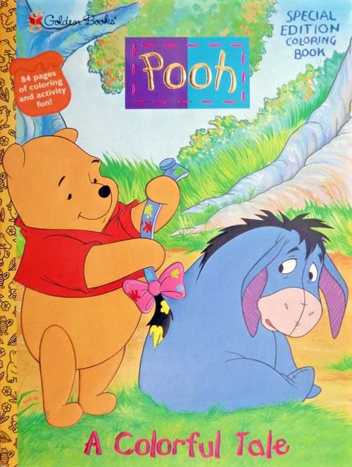Winnie the Pooh A Colorful Tale