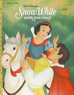 Snow White & the Seven Dwarfs Coloring Book
