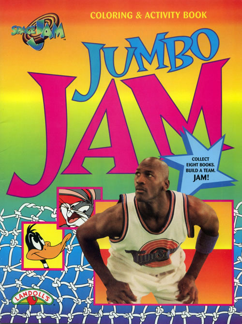 Space Jam Coloring and Activity Book