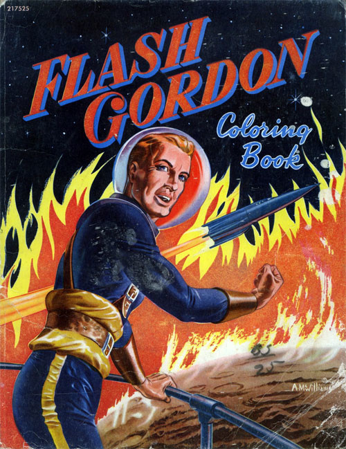 Flash Gordon Coloring Book