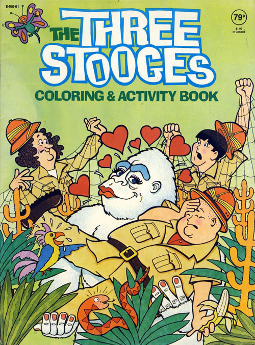 Three Stooges, The Coloring & Activity Book