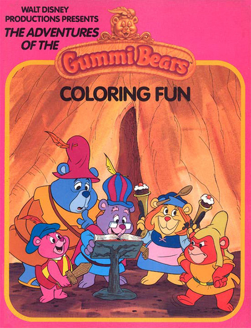 Adventures of the Gummi Bears, The Coloring Fun