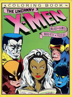X-Men Coloring Books: RetroReprints - The world\'s one true coloring ...