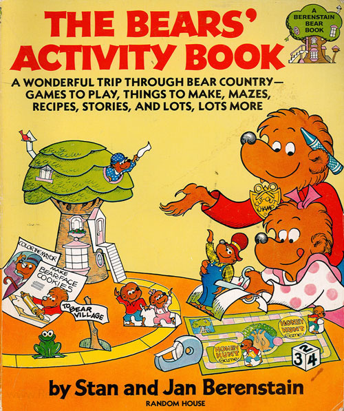 Berenstain Bears, The The Bears Activity Book
