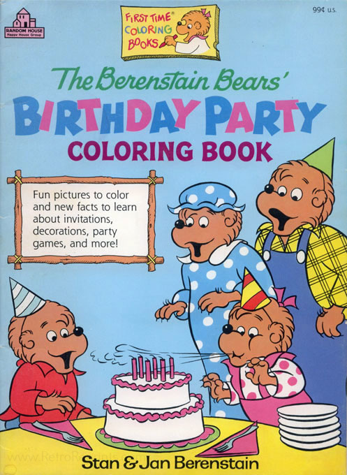 Berenstain Bears, The Birthday Party