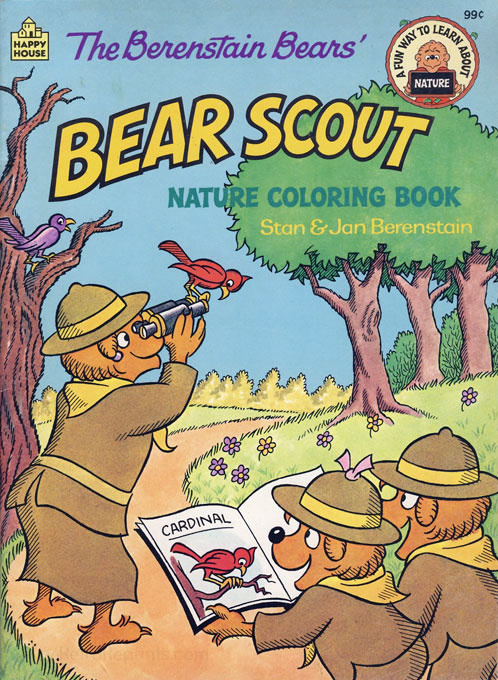 Berenstain Bears, The Bear Scout Coloring Book