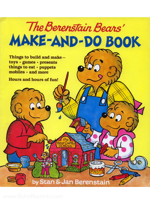 Berenstain Bears, The Make-And-Do Book