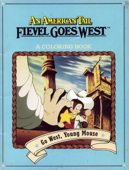 American Tail: Fievel Goes West Go West, Young Mouse