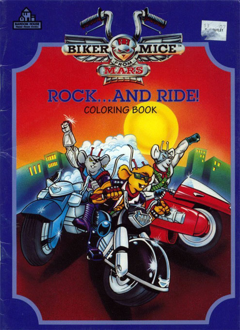 Biker Mice from Mars Rock...and Ride!