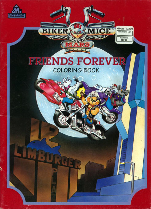 Biker Mice from Mars Friends Forever