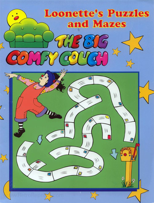 Big Comfy Couch, The Loonette's Puzzles and Mazes