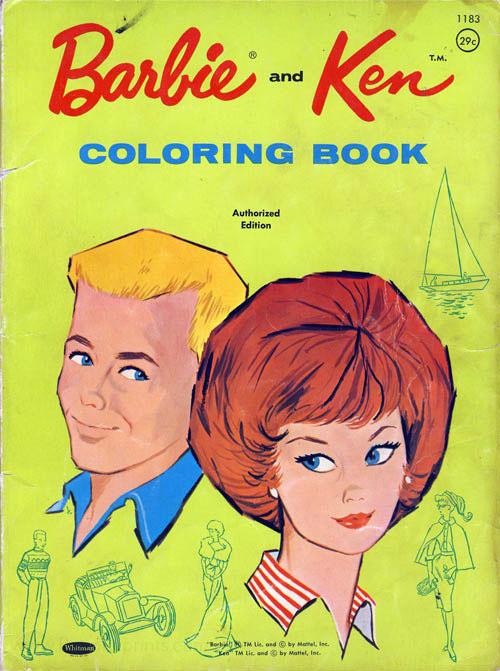 Barbie Coloring Books Retroreprints The World S One True Coloring