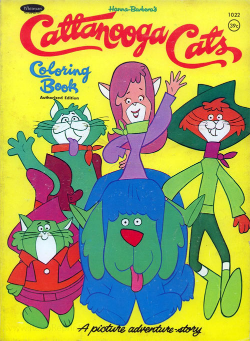Cattanooga Cats Coloring Book