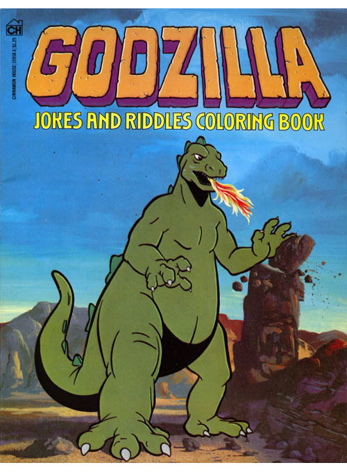 Godzilla Jokes and Riddles (1979) Cinnamon House