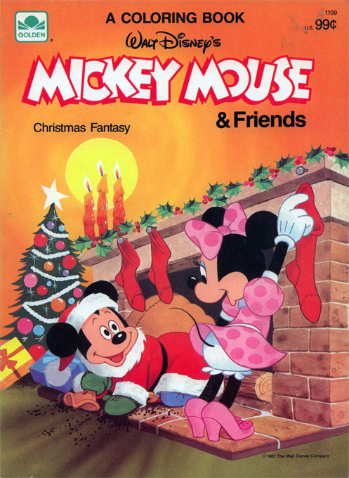 Mickey Mouse and Friends Christmas Fantasy