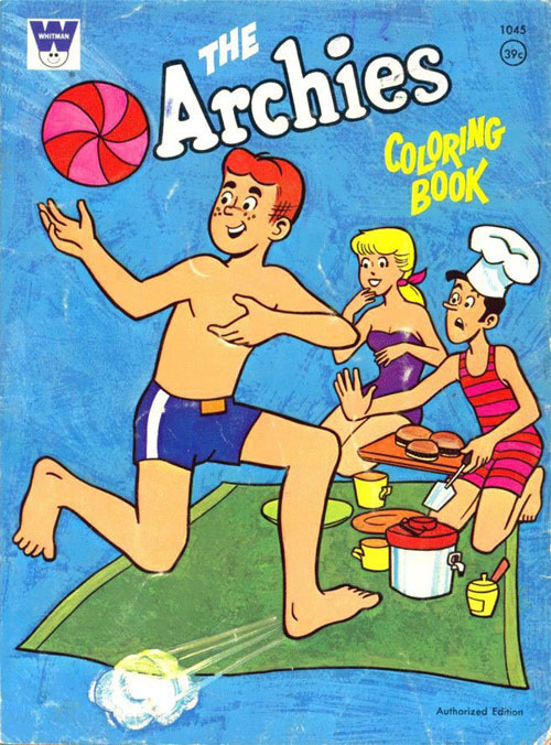 Archies, The Coloring Book