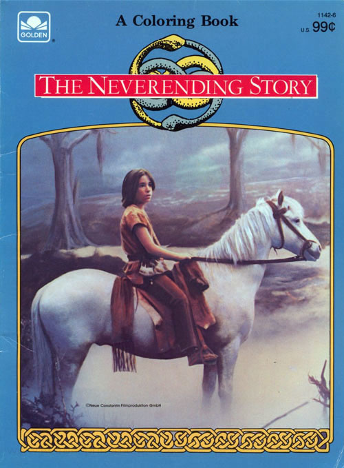 NeverEnding Story, The Coloring Book