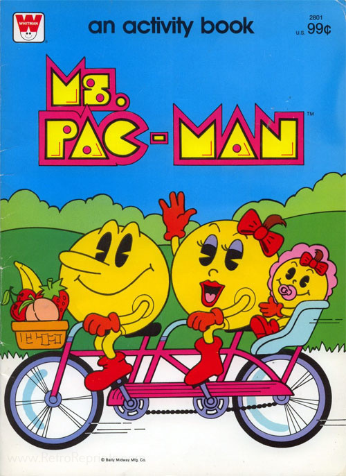 Pac-Man Ms. Pac-Man