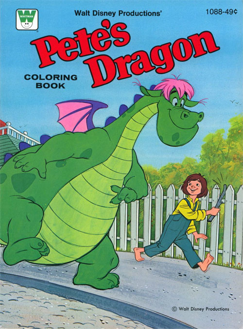 Pete's Dragon Coloring Book