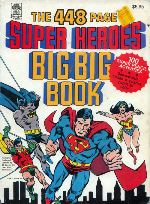 DC Super Heroes Big Big Book